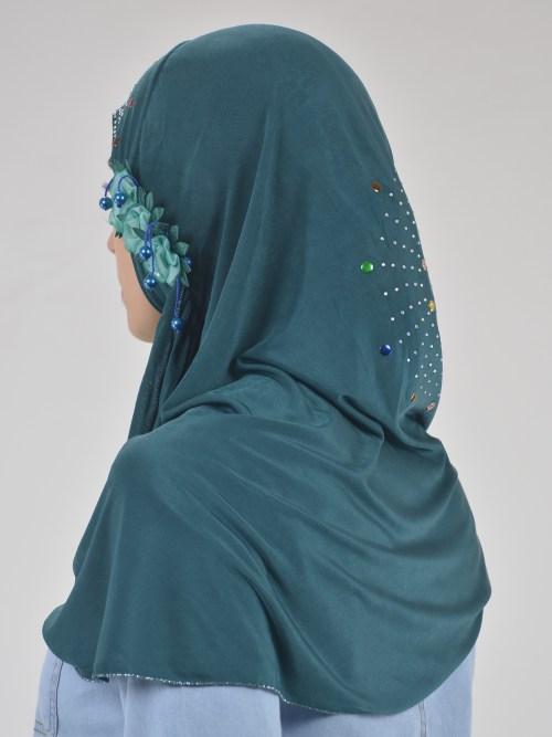 Sprouting Flowers Rhinestone Firework One-Piece Al-Amira Hijab HI2129 (4)