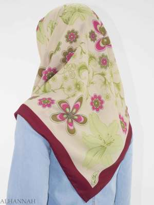 Blooming Lily Cuadrado Hijab HI2145 (3)
