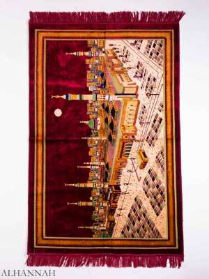 Al-Masjid An-Nabawi Motif Large Prayer Rug ii1158