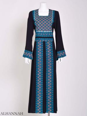 Embroidered Palestinian Fellaha Thobe th794