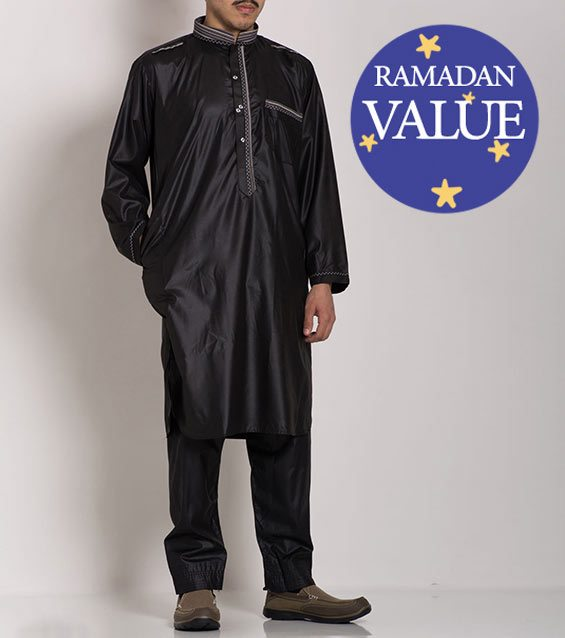 Ropa hombre-musulmana-islámica-Salwar-Kameez-Ramadan-Eid-51818