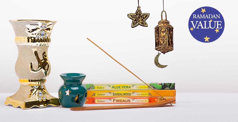 Incienso de aromas especiales de Ramadán y valor de porcentaje de Bakhoor 50