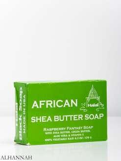 African Shea Butter Raspberry Fantasy Soap gi961 (1)