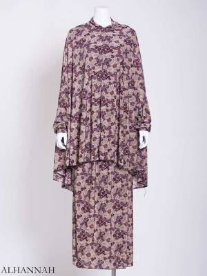 Paisley Roses – Two-Piece Prayer Outfit ps457 (1)