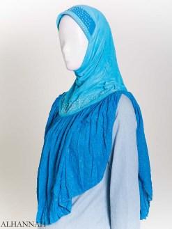 Stříbrný křišťál One-Piece Al-Amira Hijab hi2172 (1)