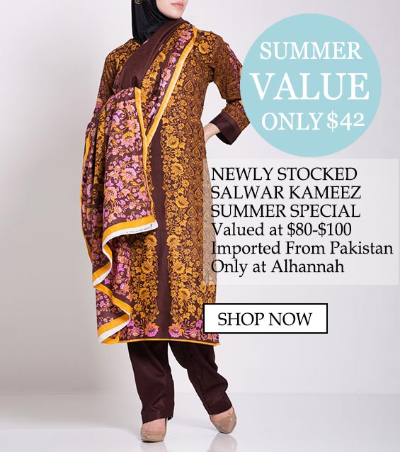 womens muslim islamic clothing salwar kameez summer value - Newly stocked salwar kameez summer special, value at $80-$100 Imported from pakistan only at Alhannah Shop now