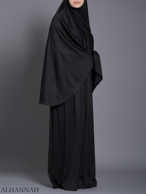 Classic Black - Two-Piece Prayer Outfit ps463 (1)