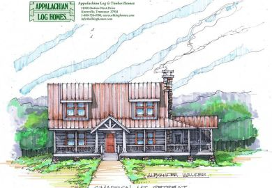 Appalachian Log Homes Rustic Design For Contemporary