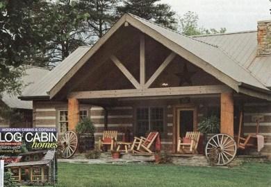 Appalachian Log Homes Rustic Design For Contemporary