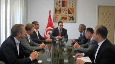 Photo of لقاء يجمع وزير التنمية بنائب رئيس الغرفة التونسية الألمانية AHK