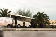 إصابة 3 نقابيين إثر انزلاق حافلة