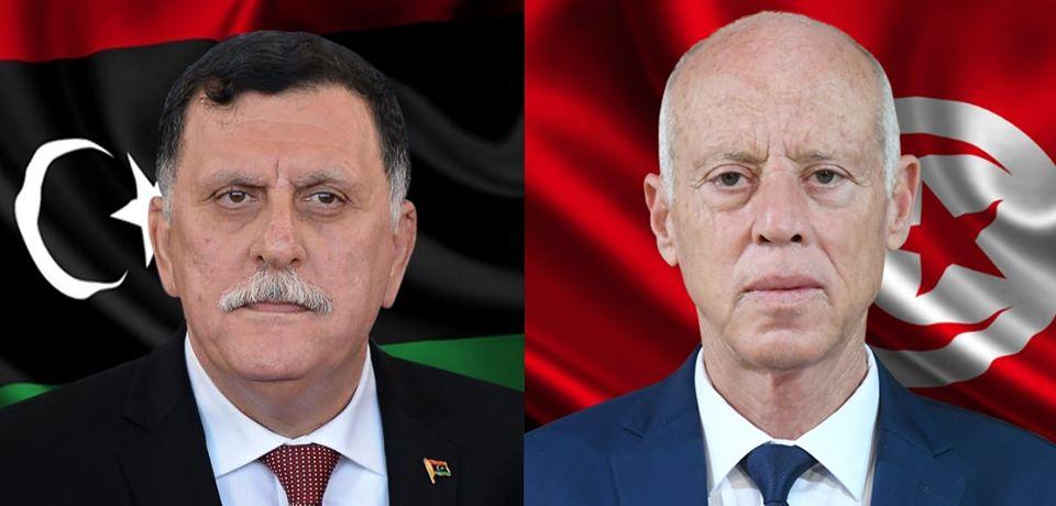 الحكومة الليبية تؤكد تعاطف الشعب الليبي مع الشعب التونسي في المصاب الجلل