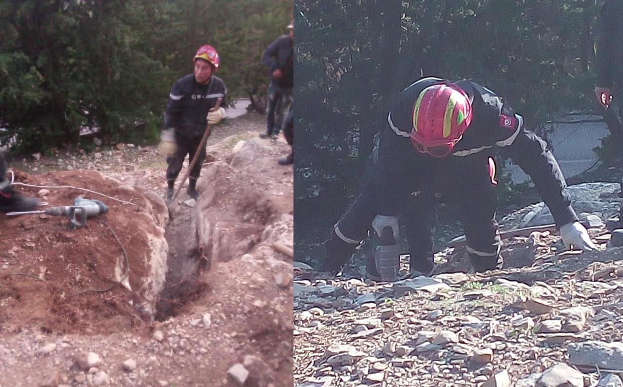 بالصور..إنقاذ كلب سقط في حفرة عميقة في بلطة بوعوان من ولاية جندوبة