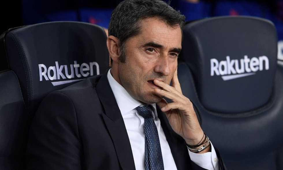 رسميا.. برشلونة يقيل مدرّبه فالفيردي