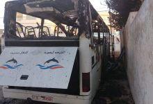 Photo of رأس الجبل/منحرفون يتعمدون حرق حافلة نقل المسافرين ببنرزت