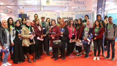 Photo of طلبة كلية العلوم يزورون صالون المؤسسة بصفاقس
