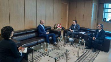 Photo of لقاء بين وزير التنمية وسفير كندا بتونس
