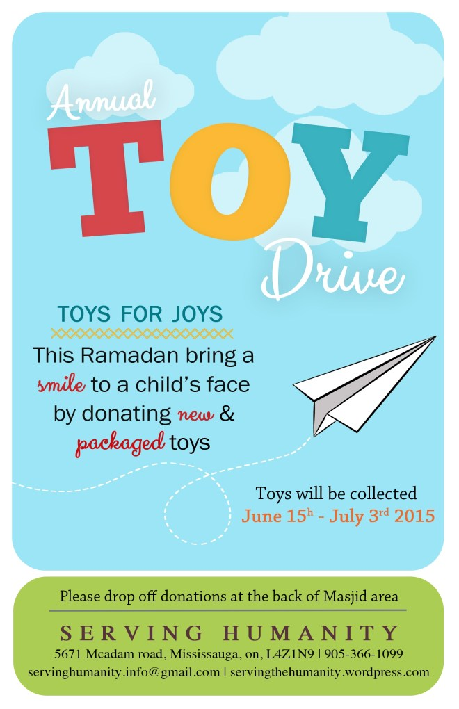 Toy Drive Flyer 2015