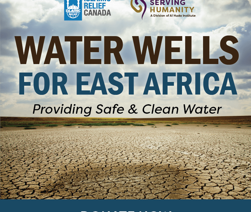 Water Wells for East Africa: Providing Safe & Clean Water – Serving Humanity Initiative