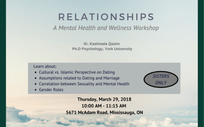 Relationships – A Mental Health and Wellness Workshop