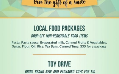 Share the Blessings – Ramadan Food and Toy Drive