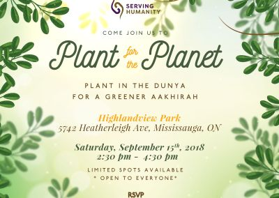 Plant for the Planet 2018