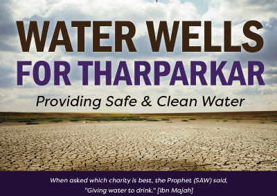 Water Wells for Tharparkar