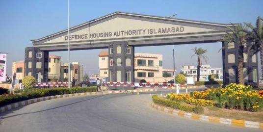 """500 sq.yards Plot in Sector """"D"""" DHA Phase 2 Islamabad"""