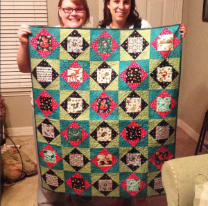 Baby Quilt for Foxen!