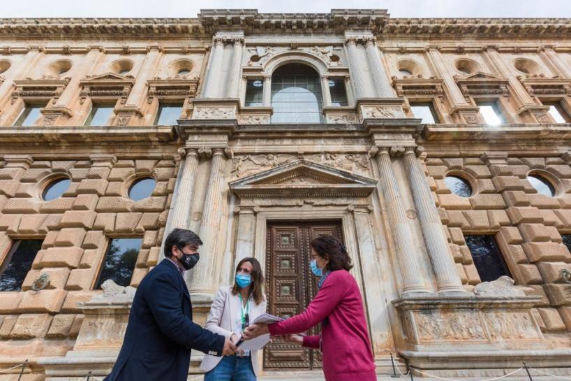 Más de un millón de euros para la restauración de las portadas del Palacio de Carlos V