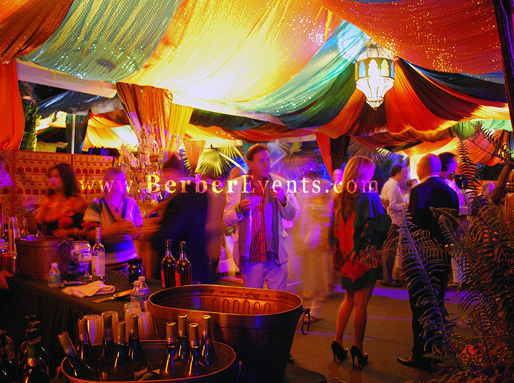 A Night In Bollywood Themed Charity Event  Alibaba Events Moroccan and Arabian Nights Theme