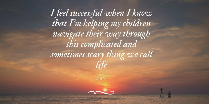 SUCCESS IS HELPING MY CHILDREN