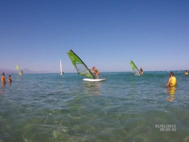 Playa de San Juan.Foto cedida por Aloha Sport. Escuela de Verano