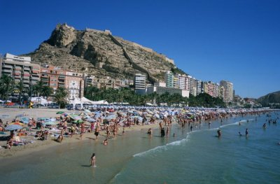 Playa Postiguet, Alicante