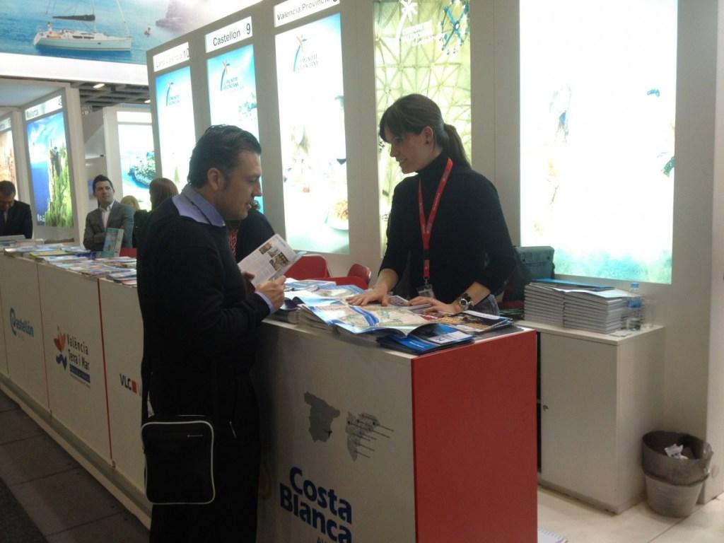 La ciudad de Alicante acude a la Feria de Turismo de Berlín, ITB, la más importante de Alemania. Marzo 2013.