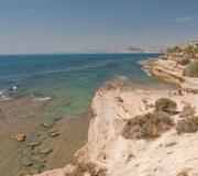 Playas de Alicante. Cabo de la Huerta
