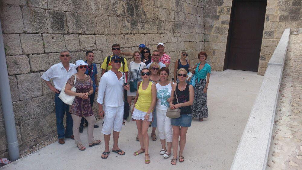 Un grupo de 14 agentes de viaje rusos visitan Alicante en un intenso fin de semana