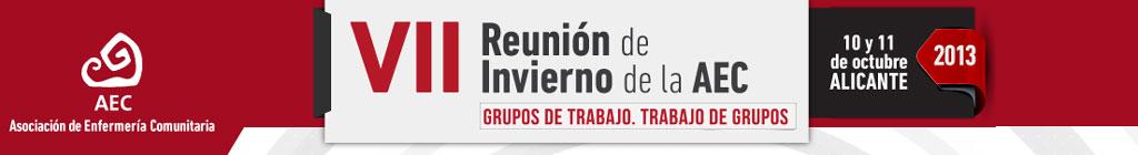 VII Reunión de Invierno de la Asociación de Enfermería Comunitaria