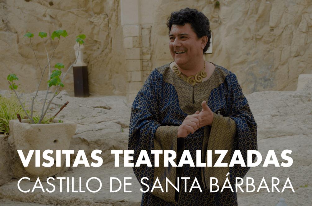 Visitas teatralizadas en el Castillo de Santa Bárbara hasta abril del 2016