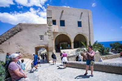 Castillo de Santa Bárbara. Foto; Ayuntamiento de Alicante/Ernesto Caparrós