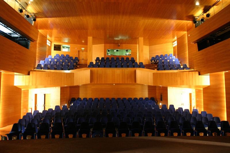 Filmoteca de Alicante en el teatro Arniches.