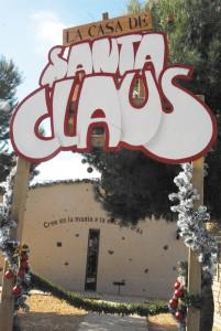 Navidad. Casa de Santa Claus