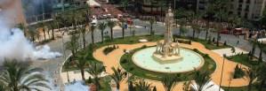 Mascletás diurnas. Hogueras de San Juan 2014 @ Plaza de Los Luceros | Alicante | Comunidad Valenciana | España