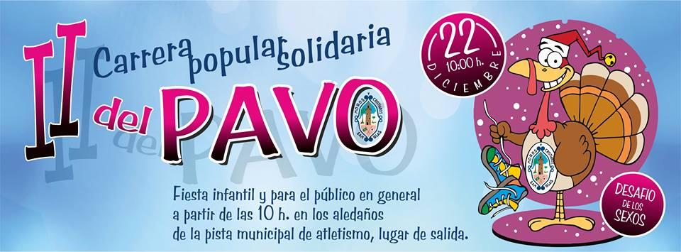Diviértete en la II carrera popular solidaria del Pavo