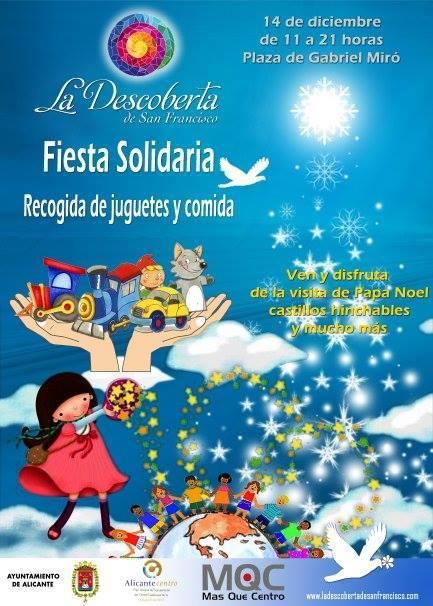 Fiesta solidaria en la plaza Gabriel Miró