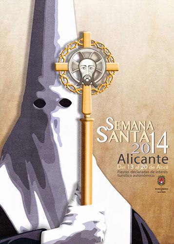 Las procesiones de la Semana Santa de Alicante 2014 se celebran del 13 al 20 de Abril.
