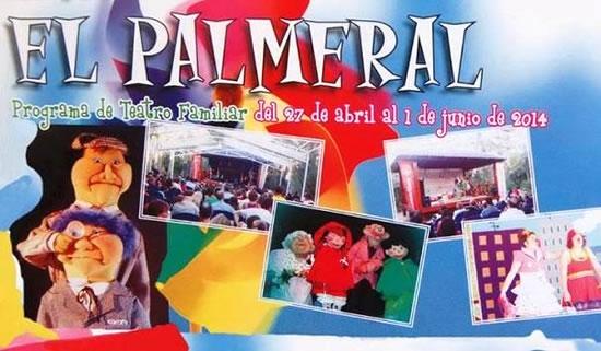 Disfruta del Teatro Familiar los domingos  en el Templete del Palmeral