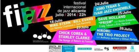 Festival Internacional de Jazz de Alicante 2014. FIJAZZ