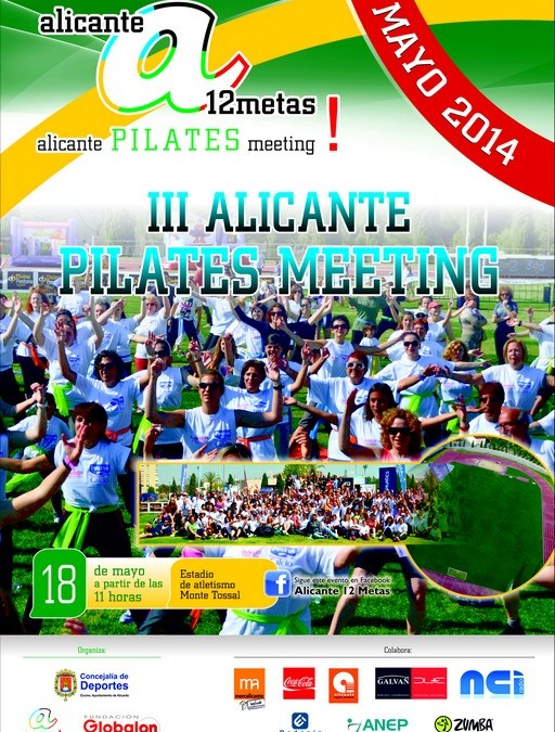 Alicante 12 Metas. III Alicante Pilates Meeting
