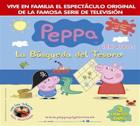 Peppa. La Búsqueda del Tesoro